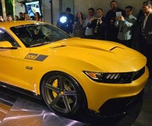 2015 Saleen 302 Black Label Mustang Rocks 730hp