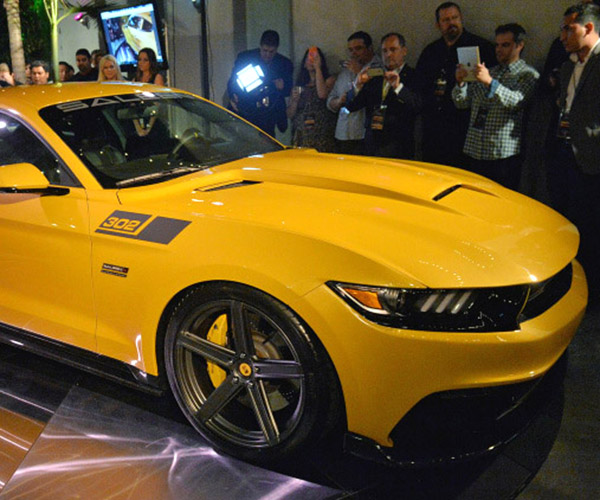 2015 Saleen 302 Black Label Mustang Rocks 730hp