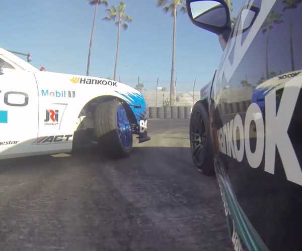 A Door's-Eye View of Side-by-Side Drifting