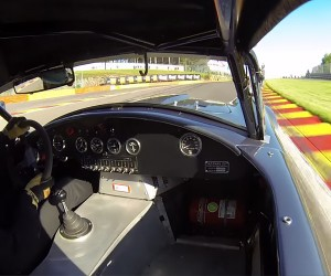 Six Minutes of Shelby Cobra On-board Bliss