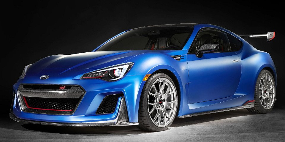 the subaru brz sti looks great needs more horses 95 octane. Black Bedroom Furniture Sets. Home Design Ideas