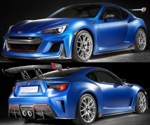 The Subaru BRZ STI Looks Great, Needs More Horses