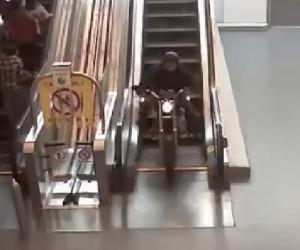 Insane Motorcycle Chase Goes Through Walmart