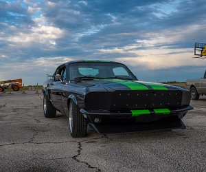 A 1968 Mustang Fastback Gets Charged up