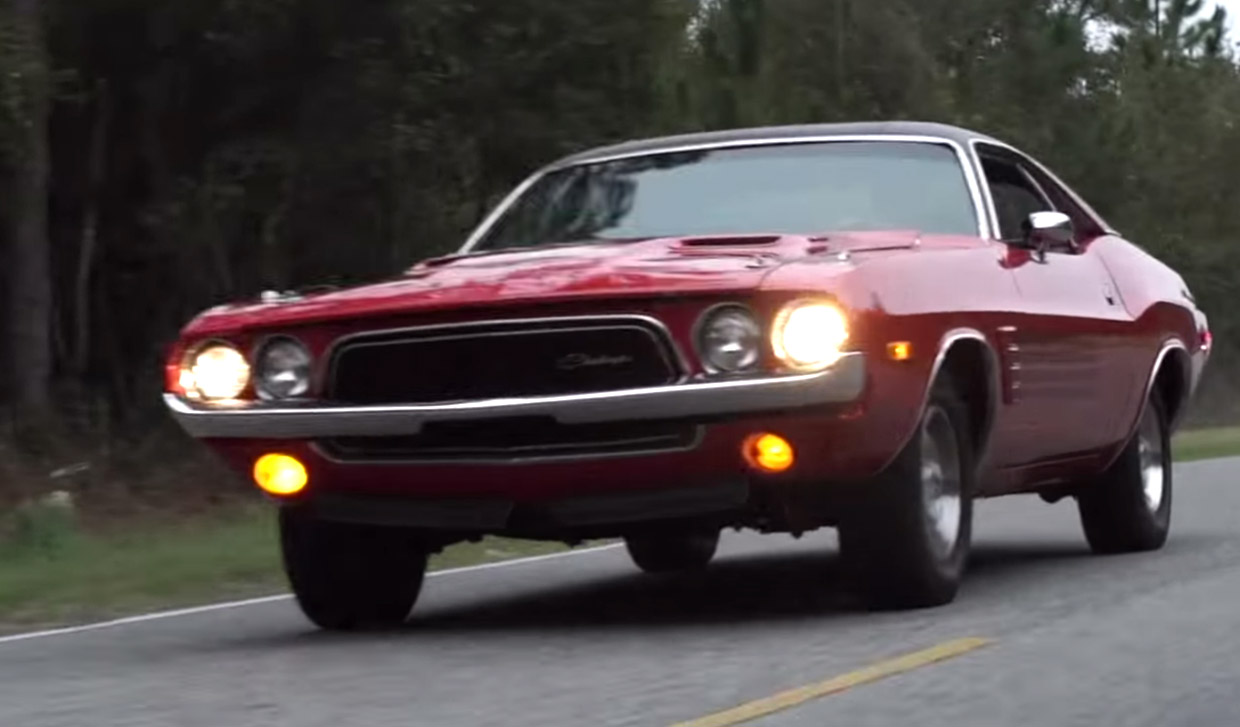 Ride Along in a 1973 Dodge Challenger