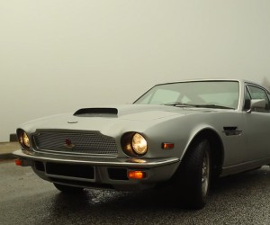 This '77 Aston Martin V8 Used to Be a Clunker