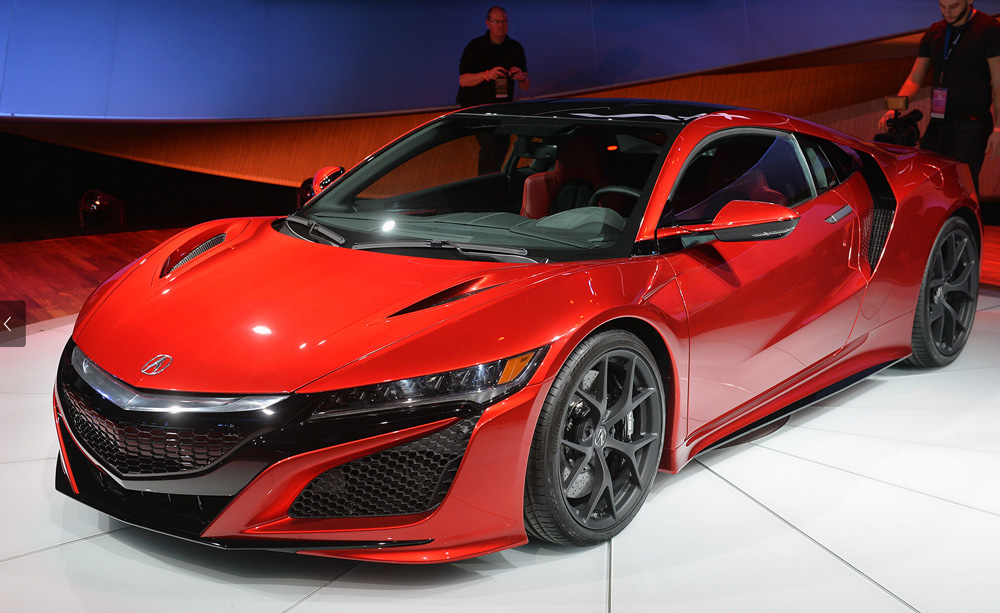Acura Reveals More about the Tech Going into the NSX