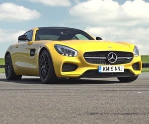 Take a Spin in the Mercedes AMG GT-S