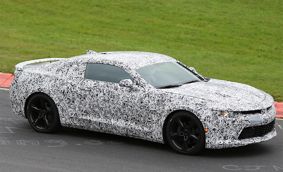 2016 Camaro Ss To Offer Magnetic Ride Suspension Option
