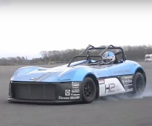 Test Drive the First Ever Hydrogen Racecar