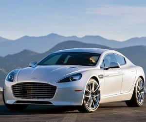 Aston Martin Is Working on a 1,000 HP Electric Rapide!