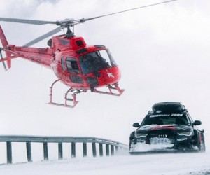 Plow Through the Snow in a 950hp Audi RS6 DTM