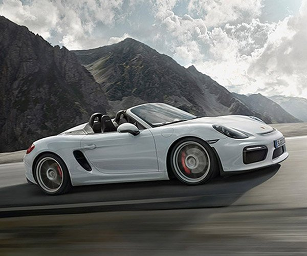 Porsche Boxster Spyder is the Most Powerful Ever