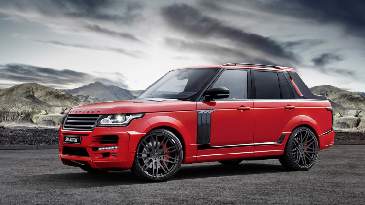 Brabus Startech: The Range Rover Avalanche