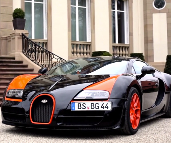 XCAR Drives the Bugatti Veyron Grand Sport Vitesse