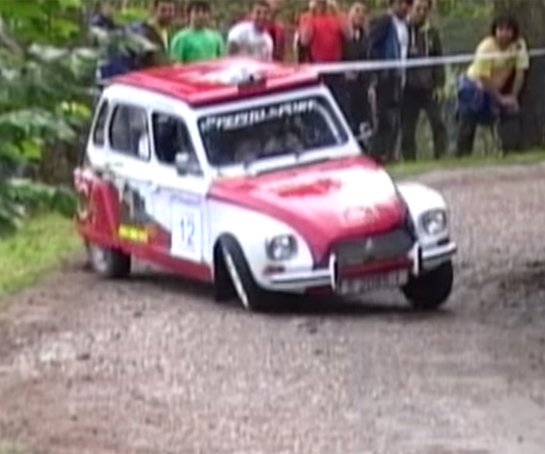 A Joyous Citroën Dyane 6 Rally