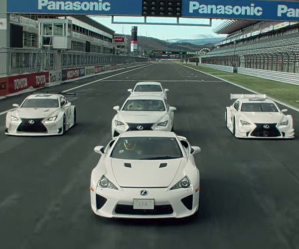 Lexus Tries Its Hand at Automotive Choreography
