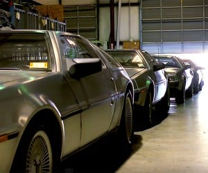 DeLorean Motor Company Goes Back to the Past