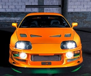Paul Walker Fast & Furious Supra Hits the Auction Block