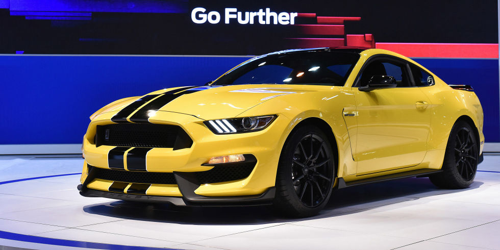 Ford Will Make only 100 2015 Mustang GT350s