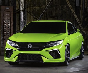 Honda Civic Concept Makes Current Owners Green with Envy