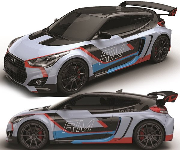 Hyundai's RM15 Mid-Engined Veloster Looks Like Heaven