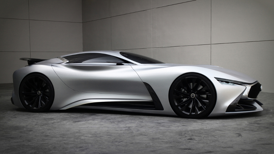 The Infiniti Vision Gran Turismo Concept Is REAL!