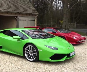 Lamborghini Huracan Meets the Countach