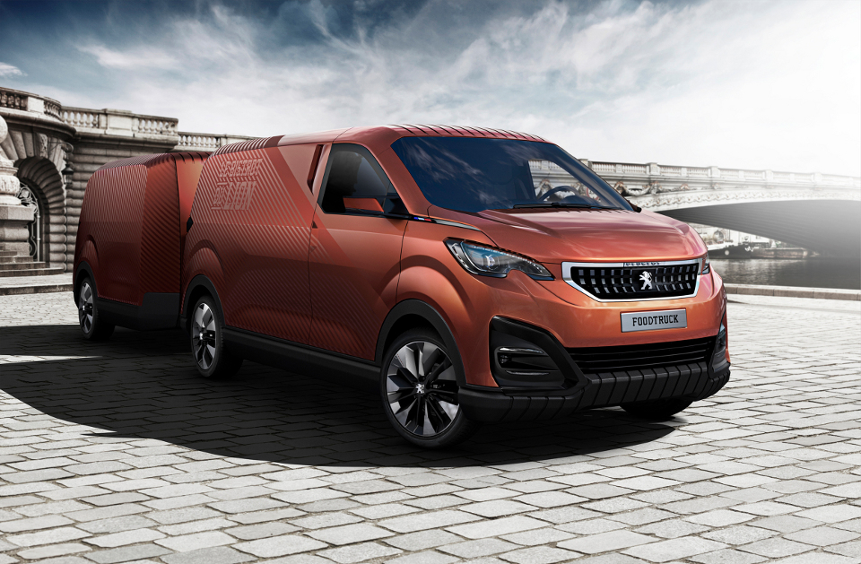 Peugeot Design Lab Made a Dedicated Food Truck