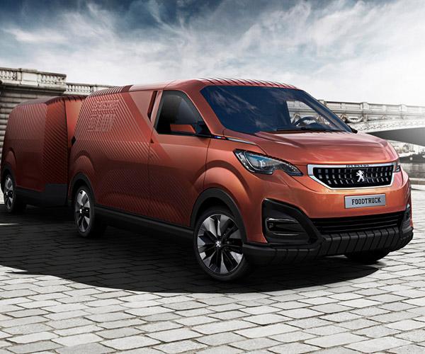 Peugeot Design Lab Made a Dedicated Food Truck