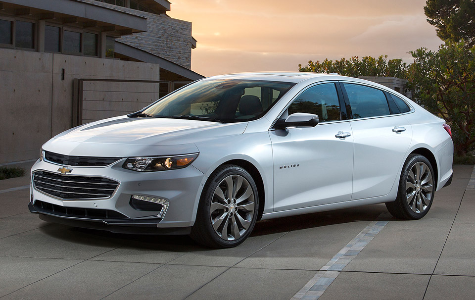 All-new 2016 Chevy Malibu Actually Looks Good