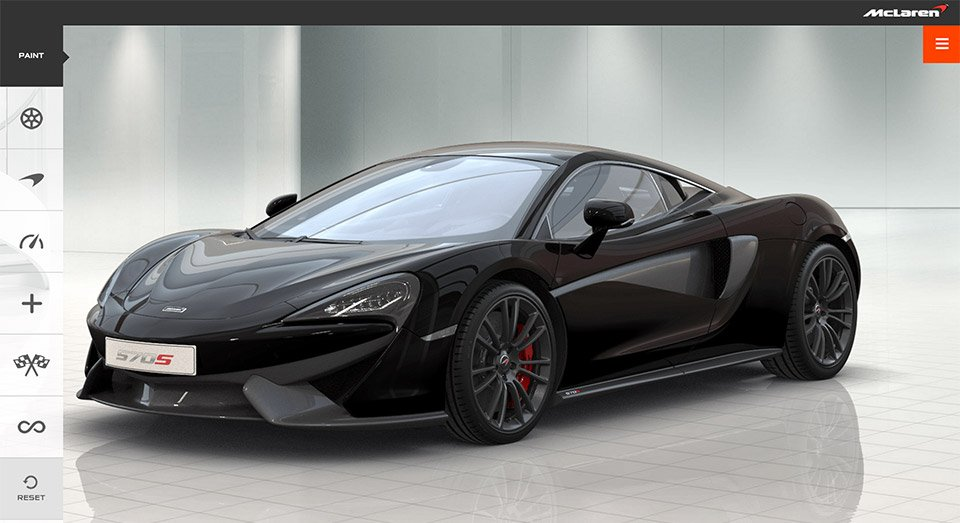 McLaren Adds 570S to Configurator
