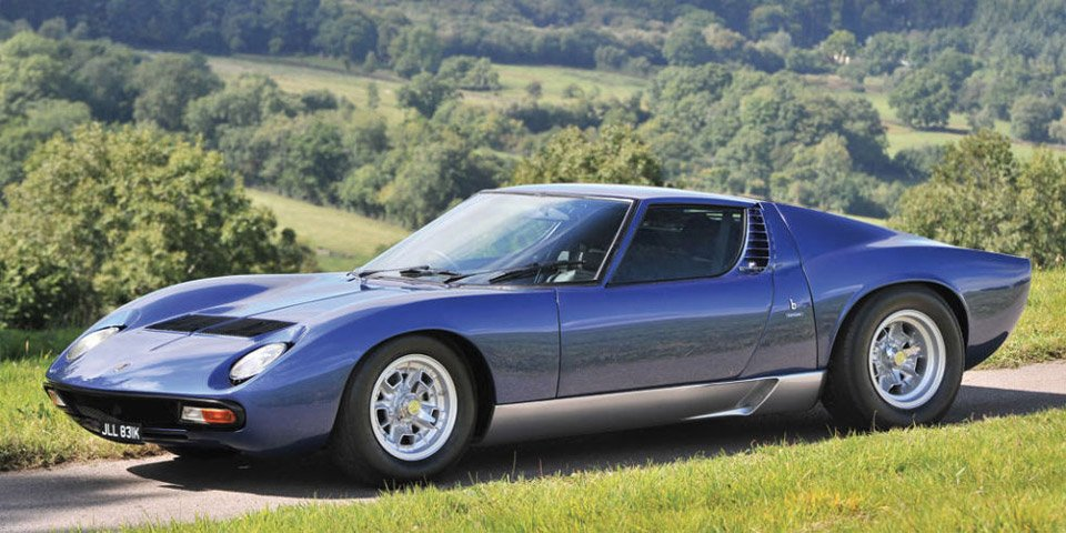 Rod Stewart's Lamborghini Miura Heads to Auction
