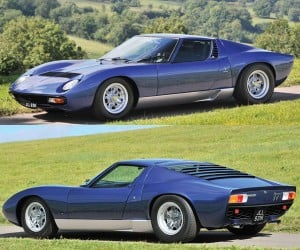 Rod Stewart's Lamborghini Miura Heads to Auction