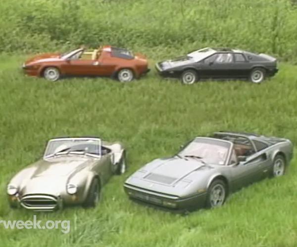 MotorWeek 1986 Exotic Car Retro Review