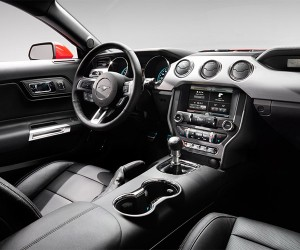 Inside the 2015 Ford Mustang's Interior Design