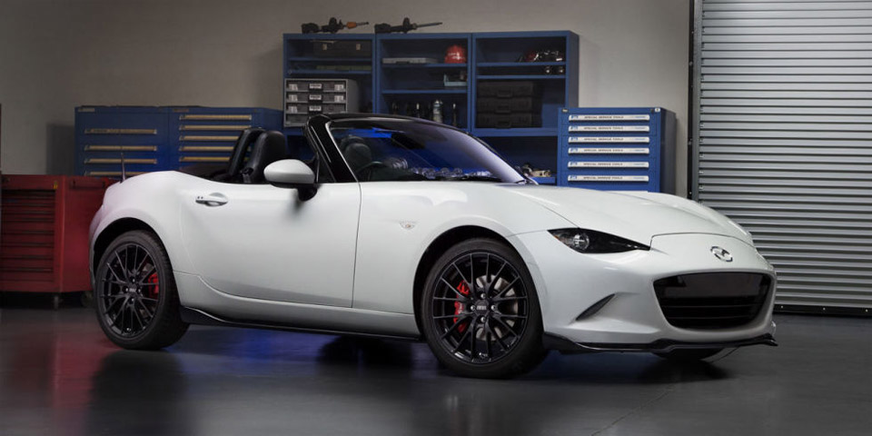 2016 Mazda MX-5 Rated for 36mpg on the Highway