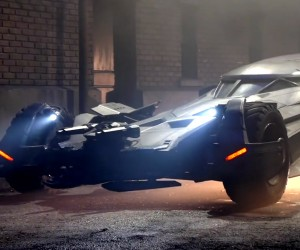 A Brief Look at the New Batmobile