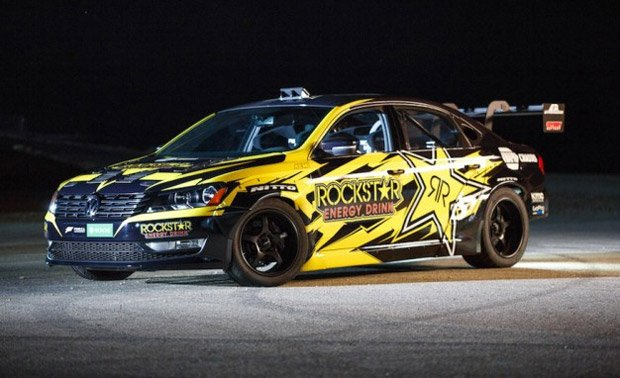 Tanner Foust's 900hp V8-Powered VW Passat