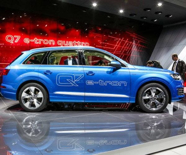 Audi Q7 e-tron to Get Wireless Induction Charging