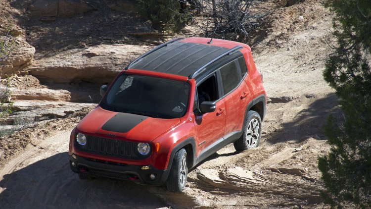 Jeep Renegade Trailhawk Proves Its a Real Jeep
