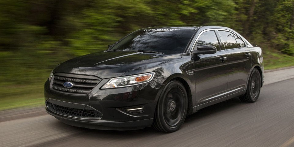550hp Ford Taurus SHO is an Awesome Sleeper - 95 Octane