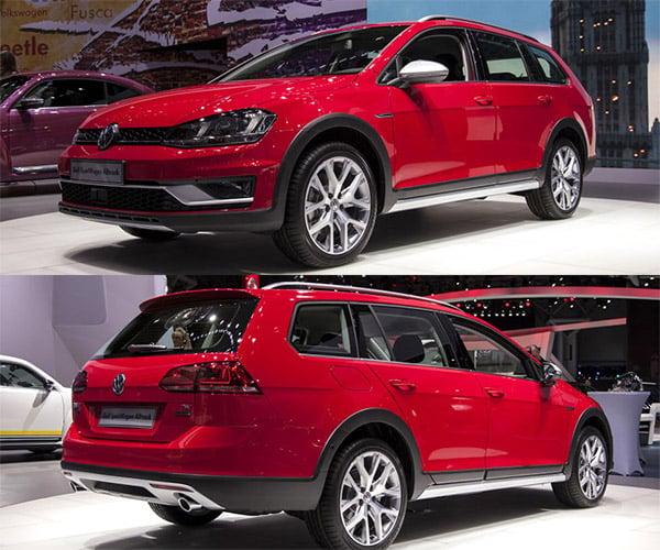 VW Gold SportWagen Alltrack is Coming Stateside