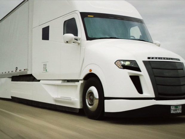 Freightliner SuperTruck Gets 12.2 mpg with a Full Load