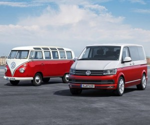 VW's New Transporter Van: The Modern Microbus