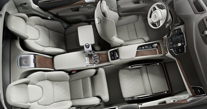 Volvo Lounge Concept Ditches the Front Seat