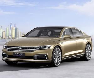 Volkswagen C Coupe GTE Concept Debuts in Shanghai