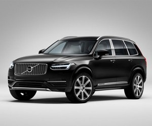Volvo XC90 Excellence Pampers Back Seat Passengers