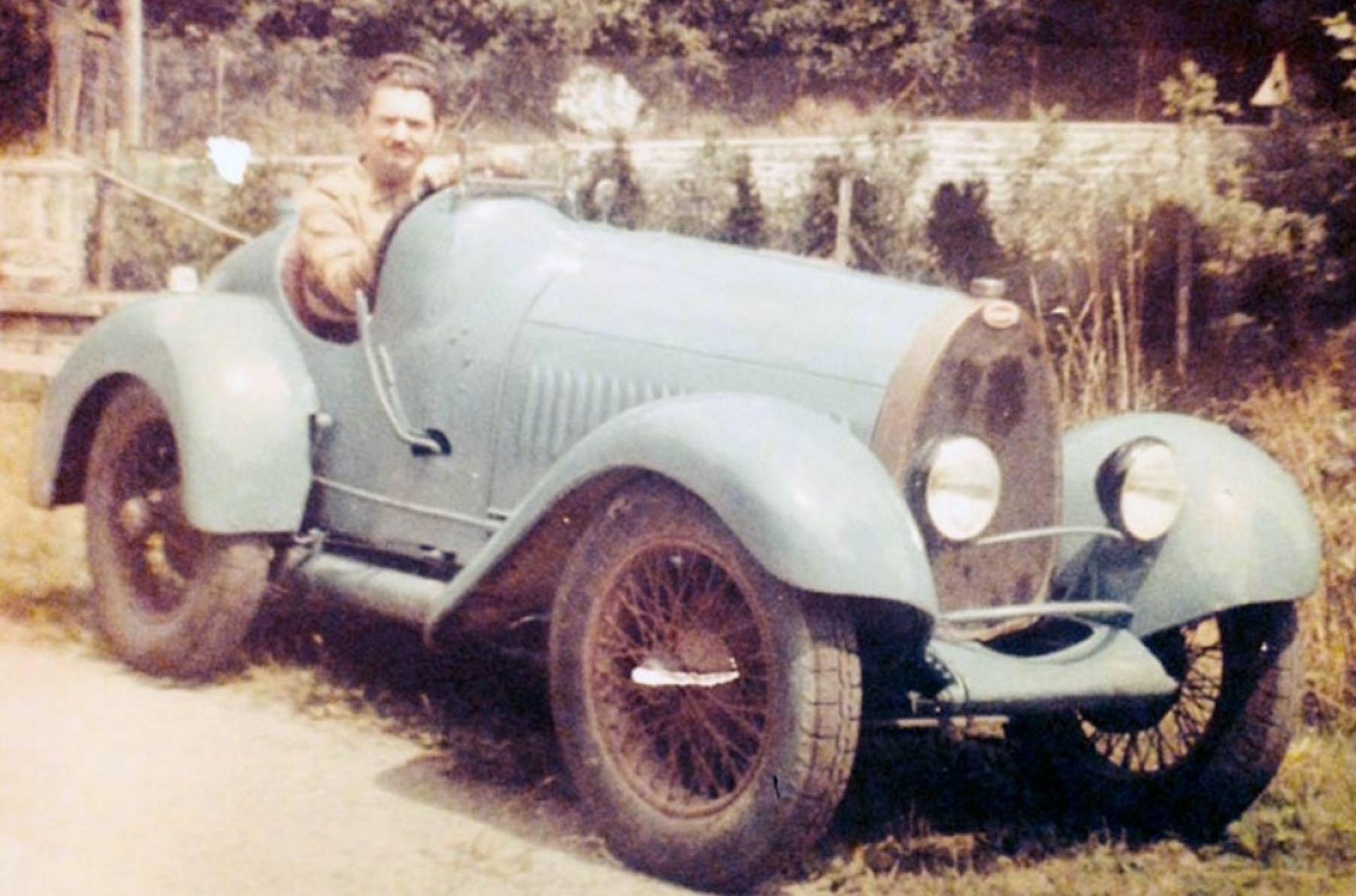 Rare 1925 Barn Find Bugatti Hits the Auction Block