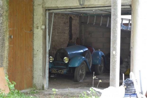 1925 Bugatti Type 13 Brescia barn find_2